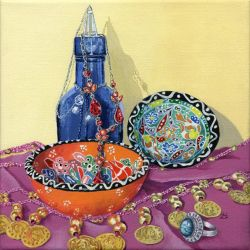 Turkish still life by LynneHendersonArt