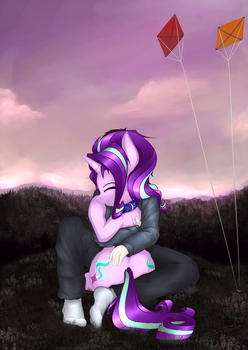 Hugging Starlight by duop-qoub