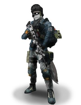Maku-Division Agent by Blackbear972