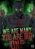 Ermac WE ARE MANY YOU ARE BUT ONE by Bakerrrr