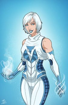 Ice (Earth-27) commission by phil-cho