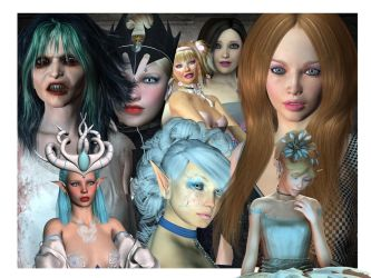 Model Pack 01 by Ecathe