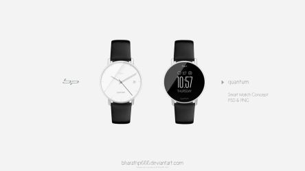 quantum : Smart Watch concept by bharathp666