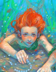 Young Mermaid by Katsuvy