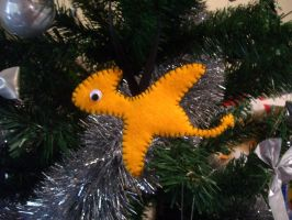 Dinosaur Christmas Ornament 3 by No-Dogs-Allowed