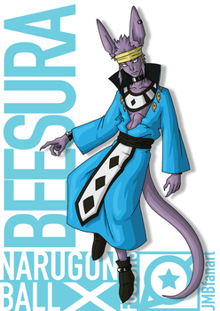 Beesura (Beerus and Asura fusion) by JMBfanart