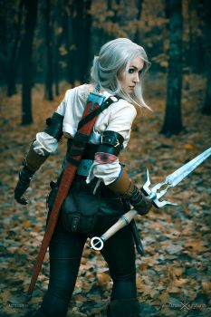 Witcher 3- Wild Hunt-Cirilla by love-squad