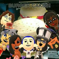BURGER CAKES FOR EVERYONE! by SlyZeke101