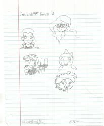 Me Fellow Deviants PART ONE by LuckyStarLord