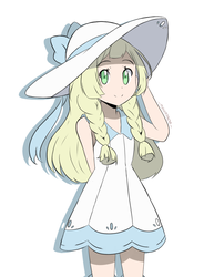 Pokemon Ultra SM - Lillie by chocomiru02