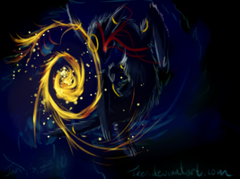 Nonexistance Flame by tikeo
