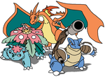 Mega Kanto Collab. With DragoDragite by TheWalrusclown