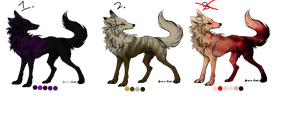 NYP CANINE ADOPTABLES [2/3 OPEN] by despoire
