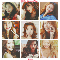 SNSD/Girl's Generation - Icons by mayradias