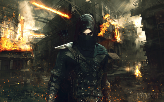 Thief 2560x1600 Wallpaper by JSWoodhams