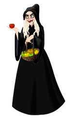 Old Hag (Snow White) by musicmermaid