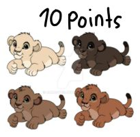 Adoptables Open 10 points by Chocoyes