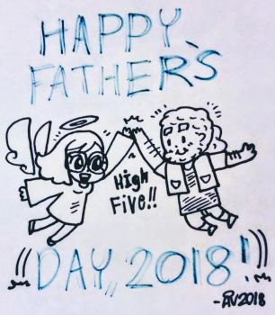 Happy Father's Day, 2018! by Create-Me-Girl