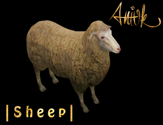 Sheep - FeralHeart Mesh by giddyfox