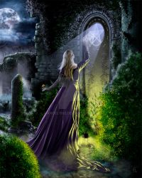 Witness An Ancient Magick by angel1592