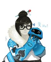 Mei 21 Days of Overwatch by Exillus