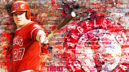 Mike Trout Wallpaper by TennisBall22