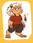 [OPEN] Capybara adoptable by DokGilda