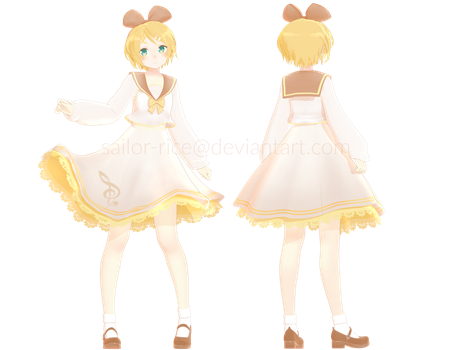 [model edit] sailor-rice styled rin by sailor-rice