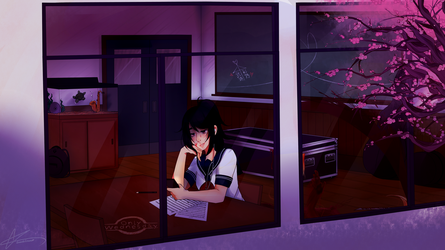 It's Only Wednesday Night, Ayano [C] by LucciolaCrown