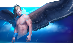 The Angel Of The Skies by Angel1227