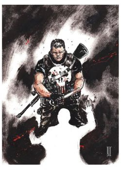 Punisher by LukaCakic
