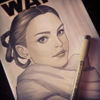 Padme by ChrissieZullo