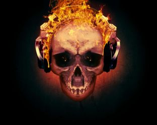 Skullmusic by Dreamviewcreation