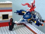 LEGO spiderman vs carnage by Pedropokefan