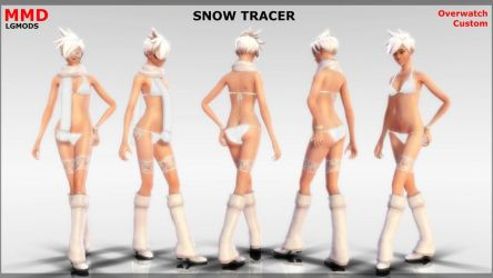 [MMD DL] SNOW TRACER (Overwatch Custom) by LGMODS