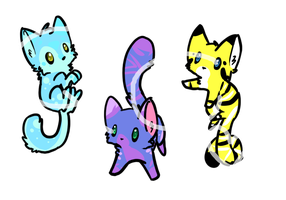 30 point kittens! [all open!] by quincychu