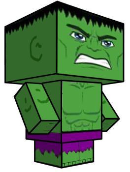 Cubee - Hulk by 7ater