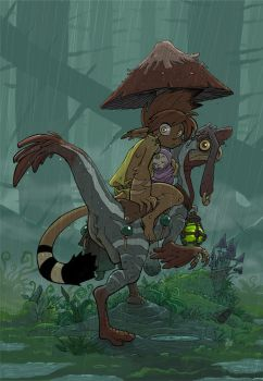 DarWin - Rainy Day by VanOxymore