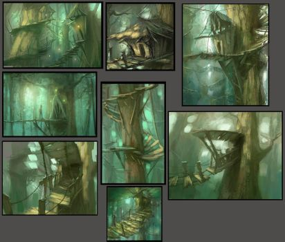 Thumbnail Sketches by MarcoBucci