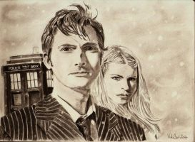 Snowy Doctor by David-Tennant-Fans