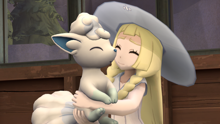 [SFM] - Lillie and Snowy by DreamCasterPegasus
