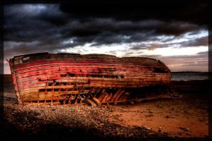 The Wreck HDR by Leeby