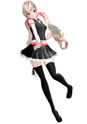 [MMD] Model - Nowy + DL by Kuma-shii