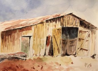 Old barn by guslopezr