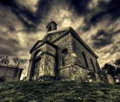 Glynde Church by wreck-photography