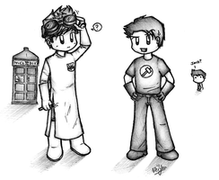 DW+DH - Doctor and Captain by dongpeiyen1000