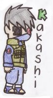 Team 7: Kakashi-sensei by NarutoFan1411