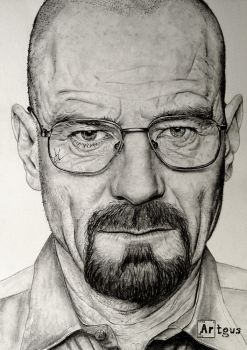 Walter White .Breaking Bad. by agusgusart