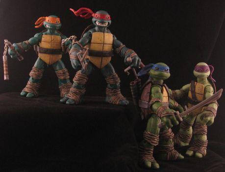 TMNT - Ross Campbell style V2 by plasticplayhouse