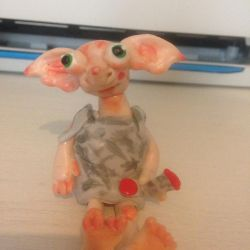 Dobby Fimo by Itchywitchygirl
